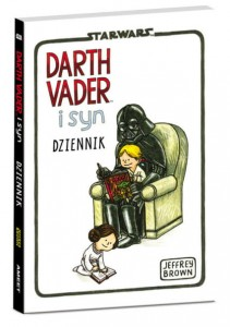 Star Wars Darth Vader i syn Dziennik Jeffrey Brown