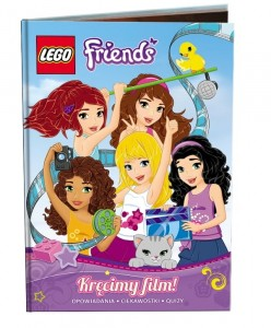 LEGO FRIENDS. KRĘCIMY FILM LNR101