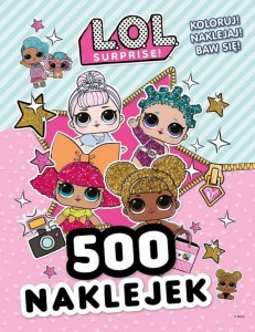 L.O.L. Surprise! 500 naklejek