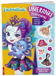 Enchantimals Ubieranki naklejanki