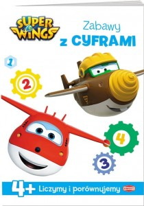 Super Wings Zabawy z cyframi 4+
