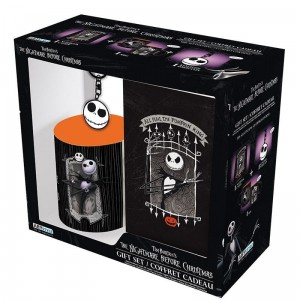 NIGHTMARE BEFORE XMAS Zestaw prezentowy KUBEK BRELOK NOTES