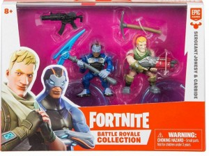 EPEE Fortnite 2-pak figurek z akcesoriami Sergeant Jonesy i Carbide