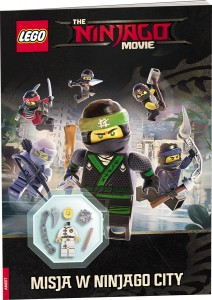 The Lego Ninjago Movie. Misja w Ninjago City + FIGURKA JAY
