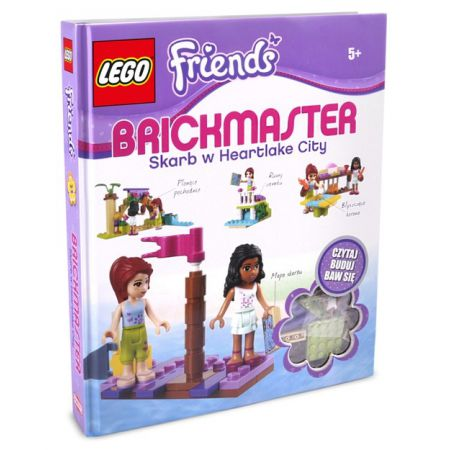 Najtaniej Lego Friends Brickmaster Skarb W Heartlake City 103